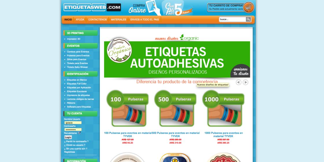 EtiquetasWeb.com