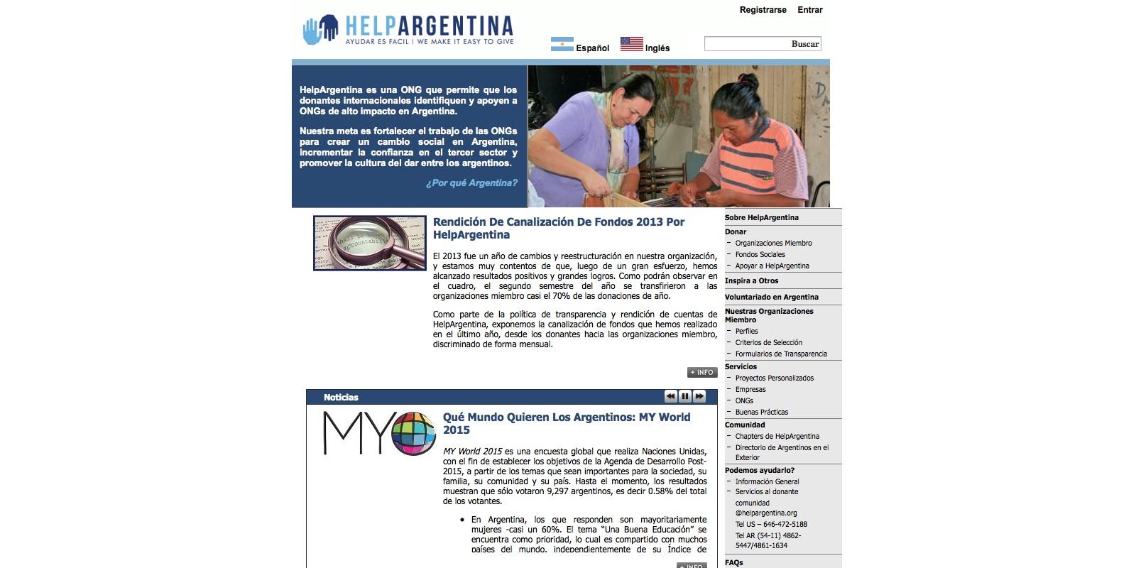 Help Argentina