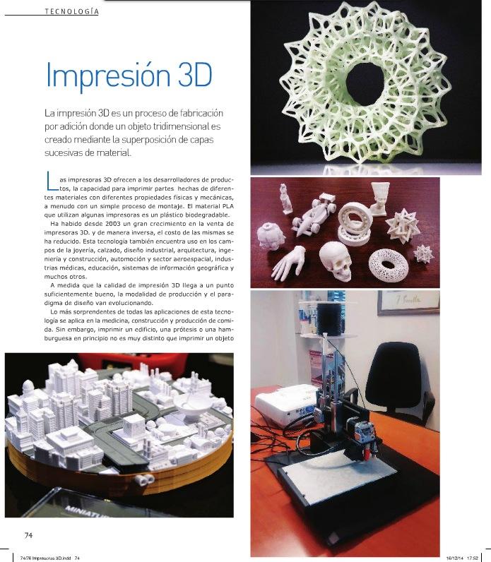 Articulo Sobre Impresión 3D