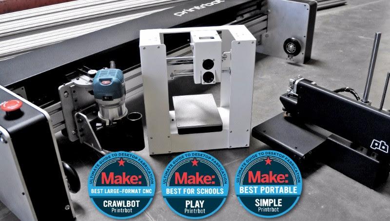 Printrbot en Make Magazine