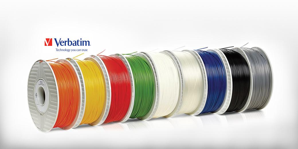 Filamentos para Impresoras 3D Verbatim